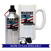 Mugs & Steins: Iwo Jima Marine Family