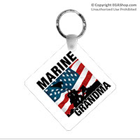Key Chain: Iwo Jima Marine Family