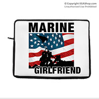 Laptop/Tablet Sleeve: Iwo Jima Marine Family