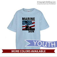 _T-Shirt (Youth): Iwo Jima Marine Family
