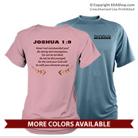 _Performance Shirt: Proud Family Scripture