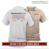 _Polo: Proud Family Scripture (Unisex)
