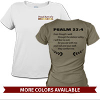 _T-Shirt (Ladies): Proud Family Scripture
