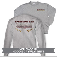 _Hoodie or Sweatshirt: Proud Family Scripture