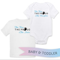 _T-Shirt/Onesie (Toddler/Baby): The Few The Proud (Heart)