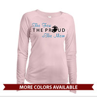 _Long Sleeve Shirt (Ladies, Solar): The Few The Proud (Heart)