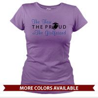 _T-Shirt (Ladies): The Few The Proud (Heart)