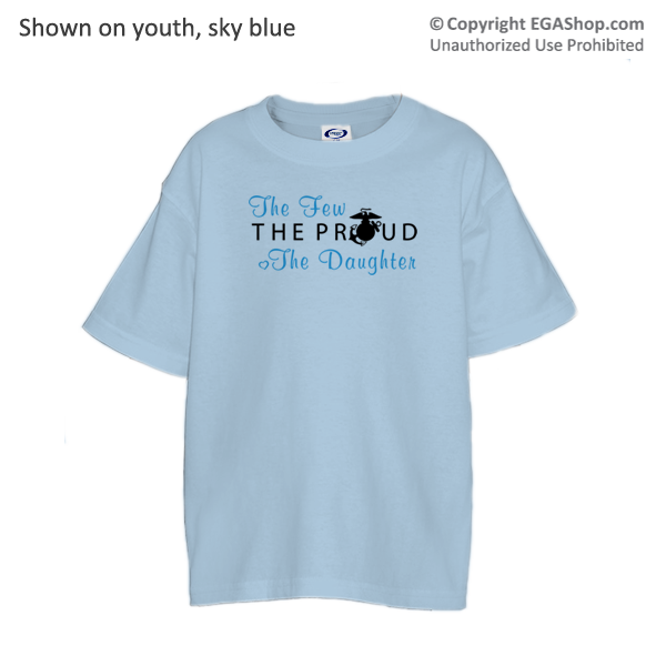 _T-Shirt (Youth): The Few The Proud (Heart)