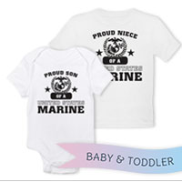 _T-Shirt/Onesie (Toddler/Baby): Proud Family -Varsity