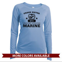_Long Sleeve Shirt (Ladies, Solar): Proud Family -Varsity