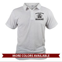 _Polo (Unisex): Proud Family -Varsity