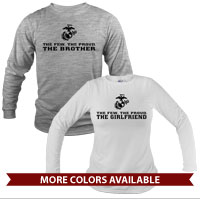 _Long Sleeve Shirt (Unisex): The Few The Proud -black