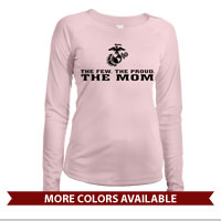 _Long Sleeve Shirt (Ladies, Solar): The Few The Proud -black