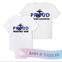_T-Shirt/Onesie (Toddler/Baby): Proud EGA