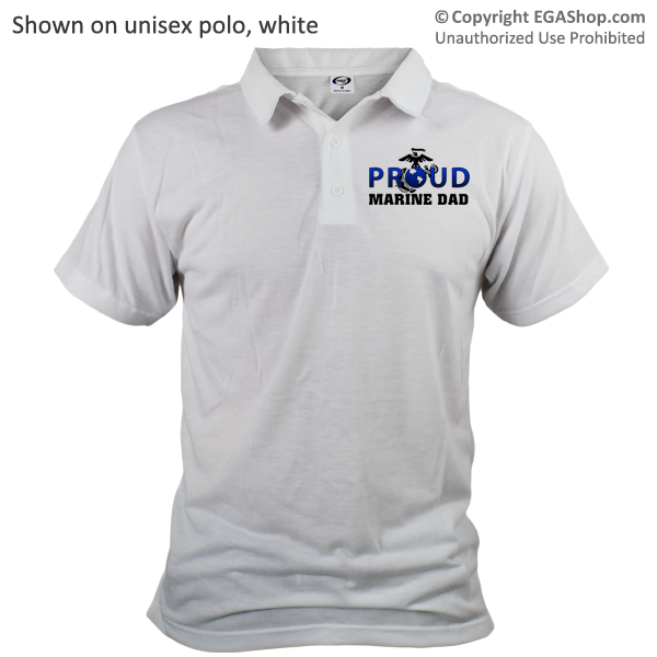 _Polo (Unisex): Proud EGA