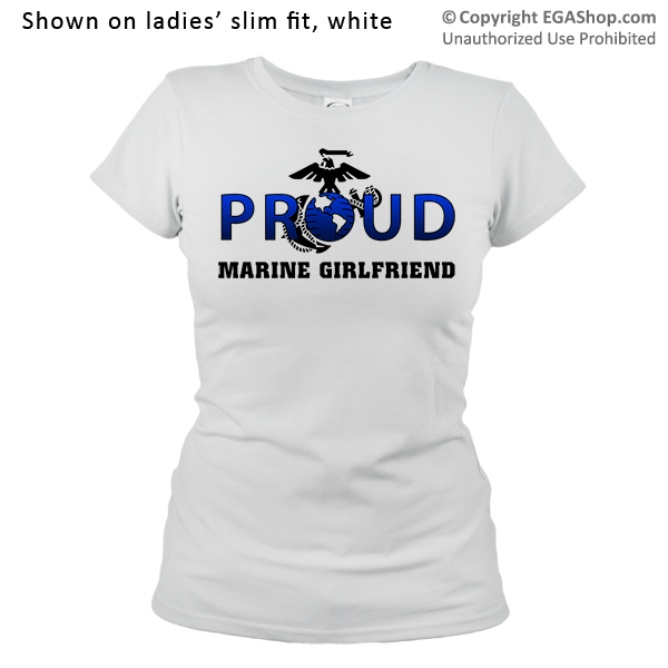 _T-Shirt (Ladies): Proud EGA