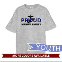 _T-Shirt (Youth): Proud EGA