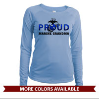 _Long Sleeve Shirt (Ladies, Solar): Proud EGA