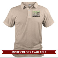 _Polo (Unisex): USMC Family -green