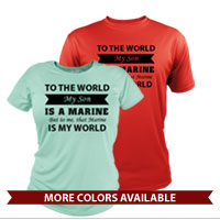 _Performance Shirt: That Marine is My World