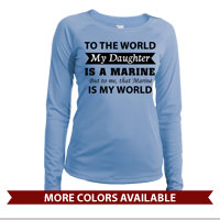 _Long Sleeve Shirt (Ladies, Solar): That Marine is My World