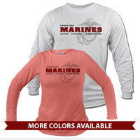 _Long Sleeve Shirt (Unisex): Honor, Courage, Commitment - Family