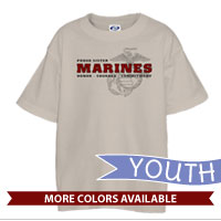 _T-Shirt (Youth): Honor, Courage, Commitment - Family