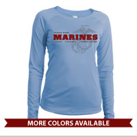 _Long Sleeve Shirt (Ladies, Solar): Honor, Courage, Commitment - Family