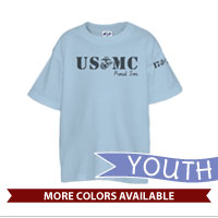 _T-Shirt (Youth): USMC EGA Family