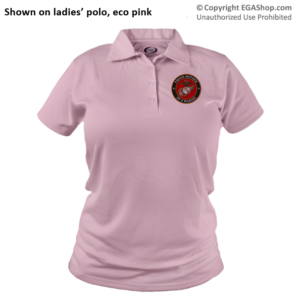 _Polo (Ladies): USMC Seal Family