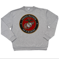 _Sweatshirt: USMC Seal Family