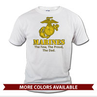 _T-Shirt (Unisex): Yellow Marines Family