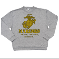 _Hoodie or Sweatshirt: Yellow Marines Family
