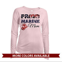 _Long Sleeve Shirt (Ladies, Solar): Proud Family Flag