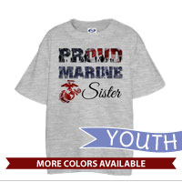 _T-Shirt (Youth): Proud Family Flag