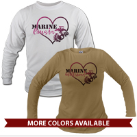 _Long Sleeve Shirt (Unisex): Marine Love