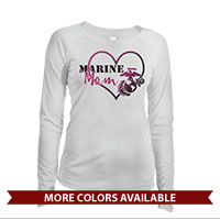 _Long Sleeve Shirt (Ladies, Solar): Marine Love