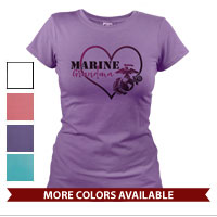 _T-Shirt (Ladies): Marine Love
