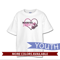 _T-Shirt (Youth): Marine Love