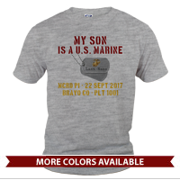 _T-Shirt (Unisex): My ___ Is A U.S. Marine