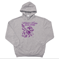 _Hoodie: Homecoming Purple Scrolls