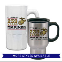 Mugs & Steins: 2014 Marine Corps Birthday