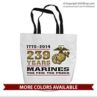 Tote Bag: 2014 Marine Corps Birthday
