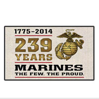 Doormat: 2014 Marine Corps Birthday