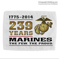 Car Flag (Single sided): 2014 Marine Corps Birthday