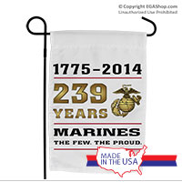 Garden Flag: 2014 Marine Corps Birthday