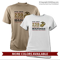 _Performance Shirt: 2014 Marine Corps Birthday
