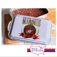 Cake Pan and Lid: 2015 Marine Corps Birthday