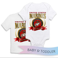 _T-Shirt/Onesie (Toddler/Baby): 2015 Marine Corps Birthday