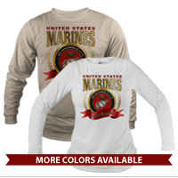 _Long Sleeve Shirt (Unisex): 2015 Marine Corps Birthday